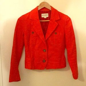 Crew poppy summer blazer
